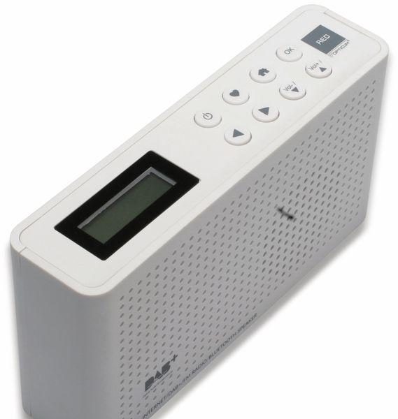 Internetradio RED OPTICUM Ton 4, weiß, DAB+, Bluetooth, WLAN