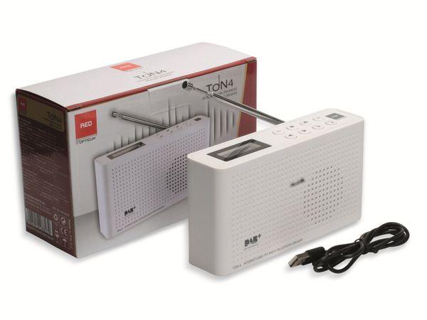 Internetradio OPTICUM Ton 4, weiß, DAB+, Bluetooth, WLAN - Produktbild 2
