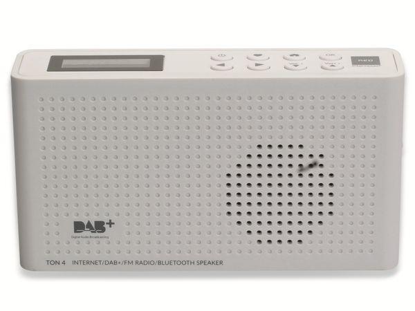 Internetradio OPTICUM Ton 4, weiß, DAB+, Bluetooth, WLAN - Produktbild 4