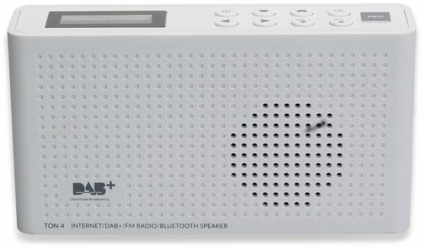 Internetradio RED OPTICUM Ton 4, weiß, DAB+, Bluetooth, WLAN - Produktbild 4