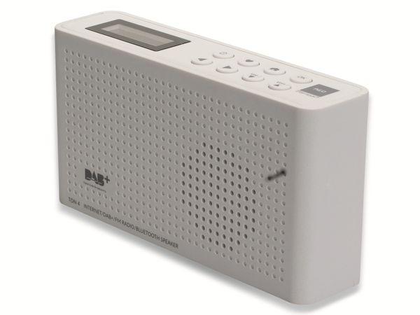 Internetradio OPTICUM Ton 4, weiß, DAB+, Bluetooth, WLAN - Produktbild 5