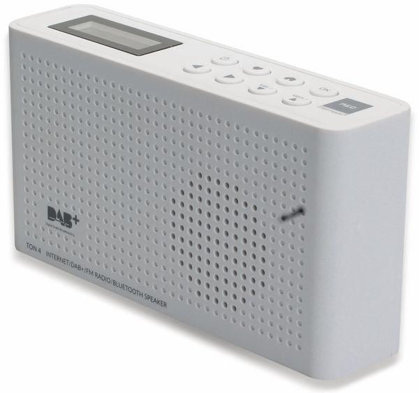 Internetradio RED OPTICUM Ton 4, weiß, DAB+, Bluetooth, WLAN - Produktbild 5