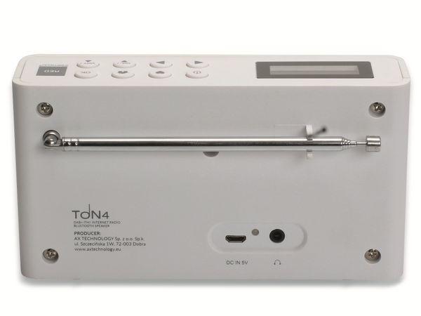 Internetradio OPTICUM Ton 4, weiß, DAB+, Bluetooth, WLAN - Produktbild 8