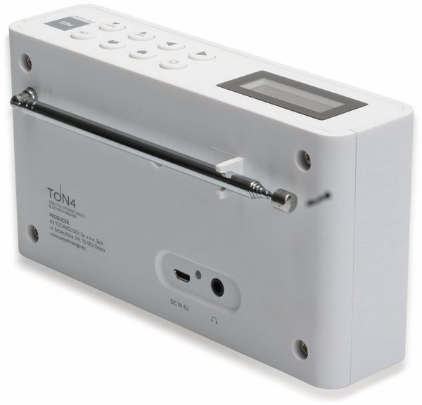 Internetradio RED OPTICUM Ton 4, weiß, DAB+, Bluetooth, WLAN - Produktbild 9