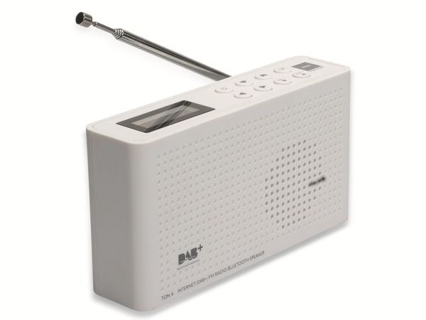 Internetradio OPTICUM Ton 4, weiß, DAB+, Bluetooth, WLAN - Produktbild 10