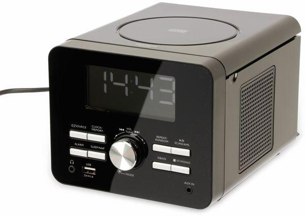 Uhrenradio CDR 274 mit CD-Player, schwarz, B-Ware - Produktbild 2