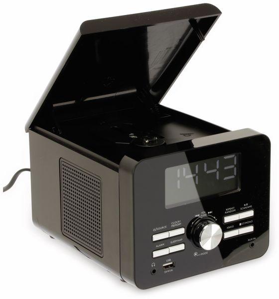 Uhrenradio CDR 274 mit CD-Player, schwarz, B-Ware - Produktbild 3
