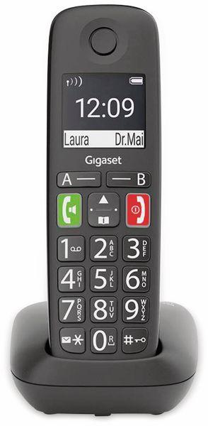 DECT-Telefon GIGASET E290, schwarz
