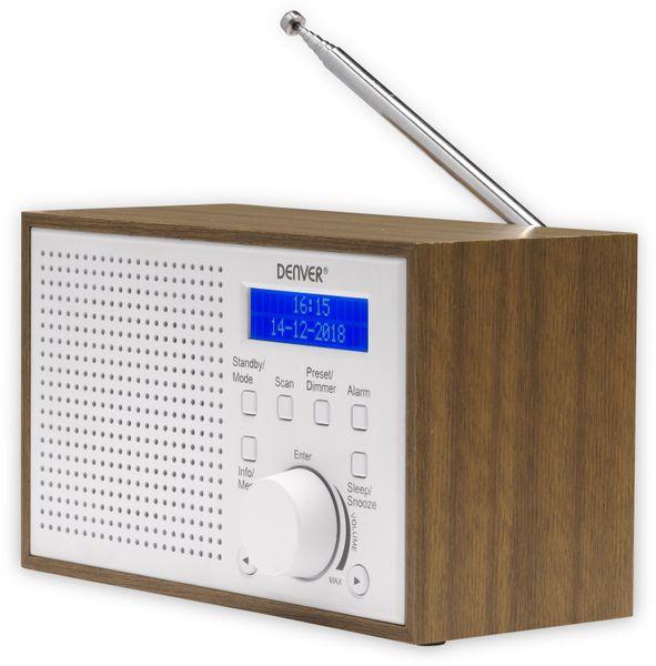 DAB Radio DENVER DAB-46, weiß