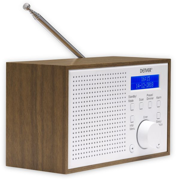DAB Radio DENVER DAB-46, weiß - Produktbild 2