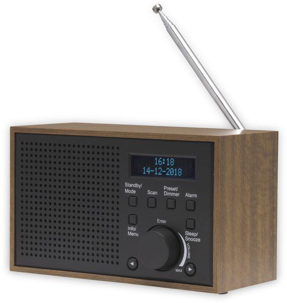 DAB Radio DENVER DAB-46, dunkelgrau