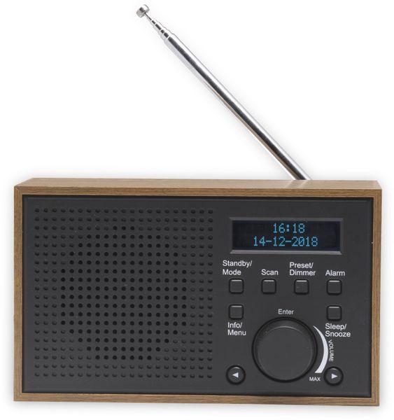 DAB Radio DENVER DAB-46, dunkelgrau - Produktbild 2