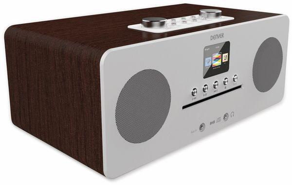 DAB+/Internetradio DENVER MIR-260, DAB+, Bluetooth, WLAN, weiß