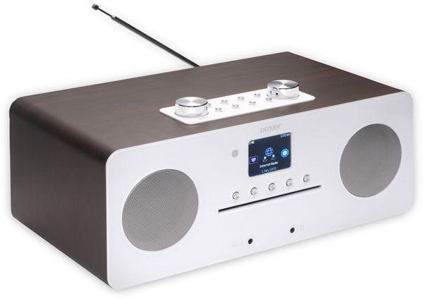 DAB+/Internetradio DENVER MIR-260, DAB+, Bluetooth, WLAN, weiß - Produktbild 3