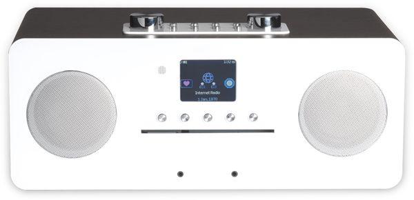DAB+/Internetradio DENVER MIR-260, DAB+, Bluetooth, WLAN, weiß - Produktbild 6