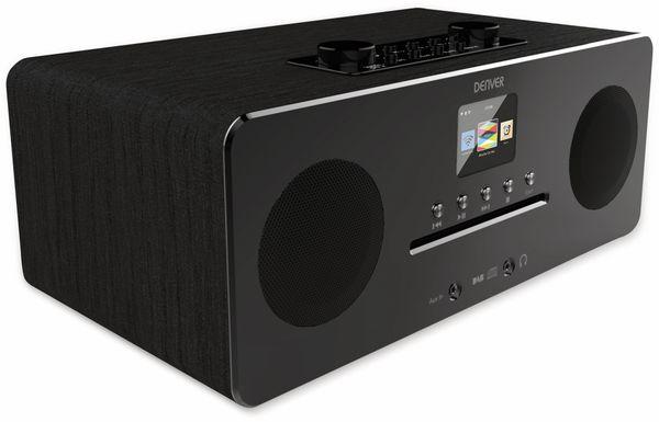 DAB+/Internetradio DENVER MIR-260, DAB+, Bluetooth, WLAN, schwarz