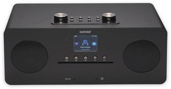 DAB+/Internetradio DENVER MIR-260, DAB+, Bluetooth, WLAN, schwarz - Produktbild 2