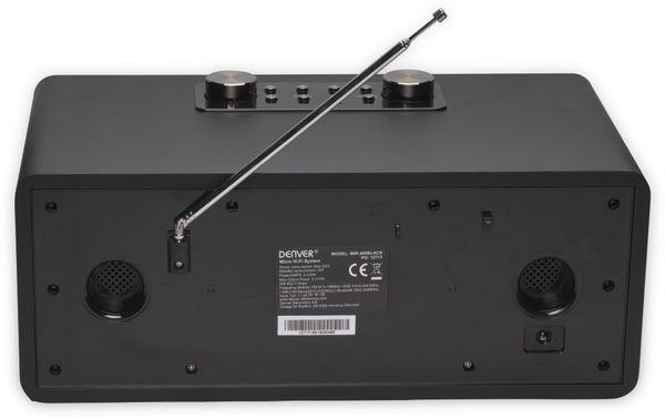 DAB+/Internetradio DENVER MIR-260, DAB+, Bluetooth, WLAN, schwarz - Produktbild 4
