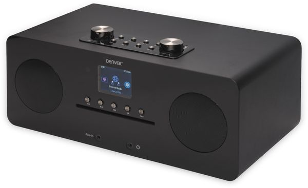 DAB+/Internetradio DENVER MIR-260, DAB+, Bluetooth, WLAN, schwarz - Produktbild 5