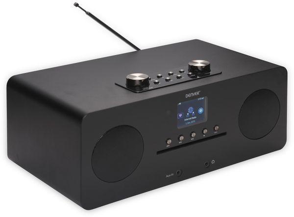 DAB+/Internetradio DENVER MIR-260, DAB+, Bluetooth, WLAN, schwarz - Produktbild 6