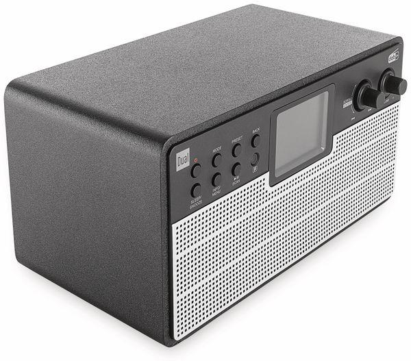 DAB+/Internetradio DUAL IR 100, schwarz/silber, DAB+, Wlan, Bluetooth - Produktbild 2
