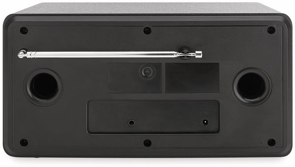 DAB+/Internetradio DUAL IR 100, schwarz/silber, DAB+, Wlan, Bluetooth - Produktbild 4