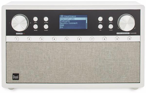 DAB+/Internetradio DUAL IR 105S, silber, DAB+, Wlan, Bluetooth