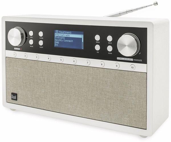 DAB+/Internetradio DUAL IR 105S, silber, DAB+, Wlan, Bluetooth - Produktbild 2