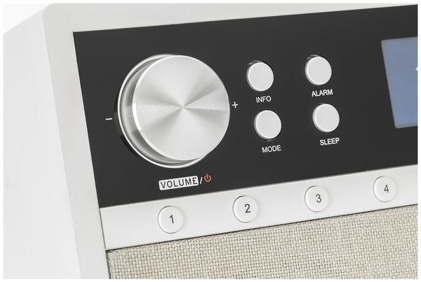 DAB+/Internetradio DUAL IR 105S, silber, DAB+, Wlan, Bluetooth - Produktbild 4