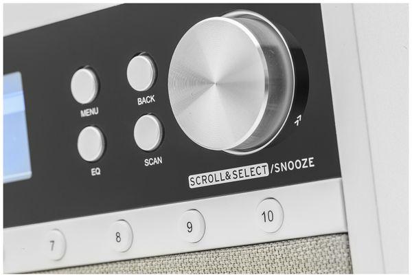 DAB+/Internetradio DUAL IR 105S, silber, DAB+, Wlan, Bluetooth - Produktbild 5