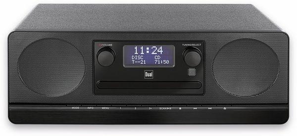 Stereoanlage DUAL DAB 420 BT, schwarz, DAB+, Bluetooth