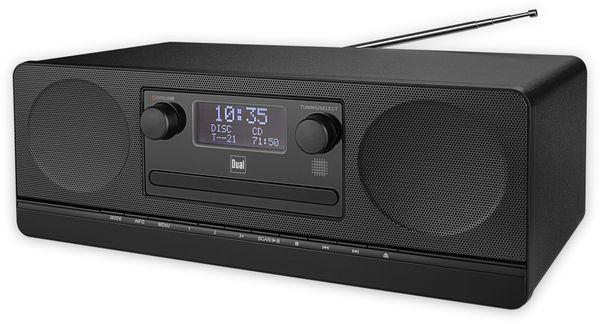 Stereoanlage DUAL DAB 420 BT, schwarz, DAB+, Bluetooth - Produktbild 2