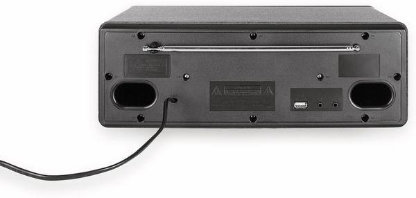 Stereoanlage DUAL DAB 420 BT, schwarz, DAB+, Bluetooth - Produktbild 4