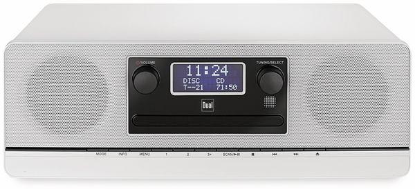 Stereoanlage DUAL DAB 420 BT, silber, DAB+, Bluetooth