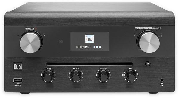 DAB Radio DUAL CR 900 Phantom, schwarz, DAB+, Wlan, Bluetooth - Produktbild 2