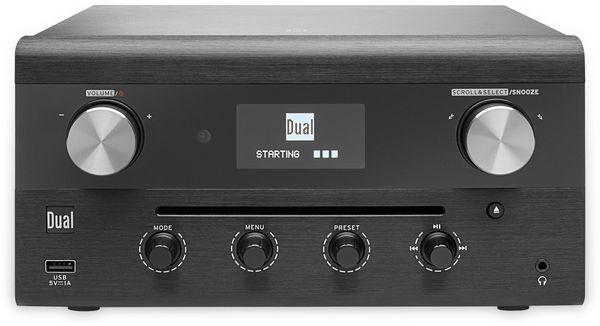 DAB Radio DUAL CR 900 Phantom, schwarz, DAB+, Wlan, Bluetooth - Produktbild 4