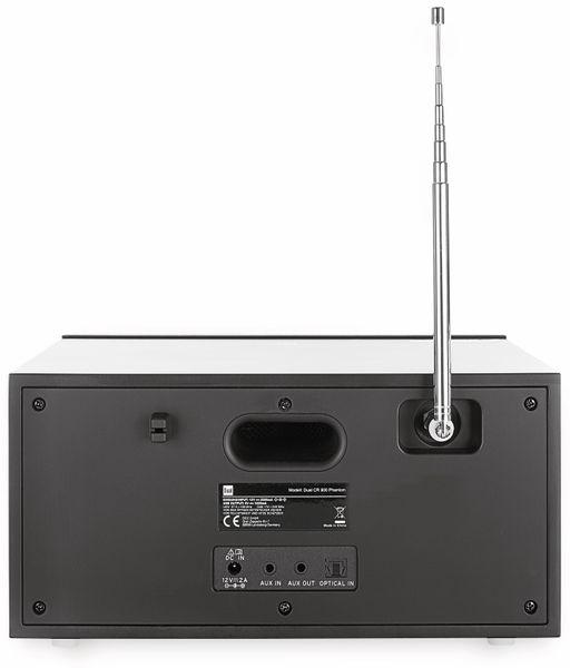 DAB Radio DUAL CR 900 Phantom, schwarz, DAB+, Wlan, Bluetooth - Produktbild 6