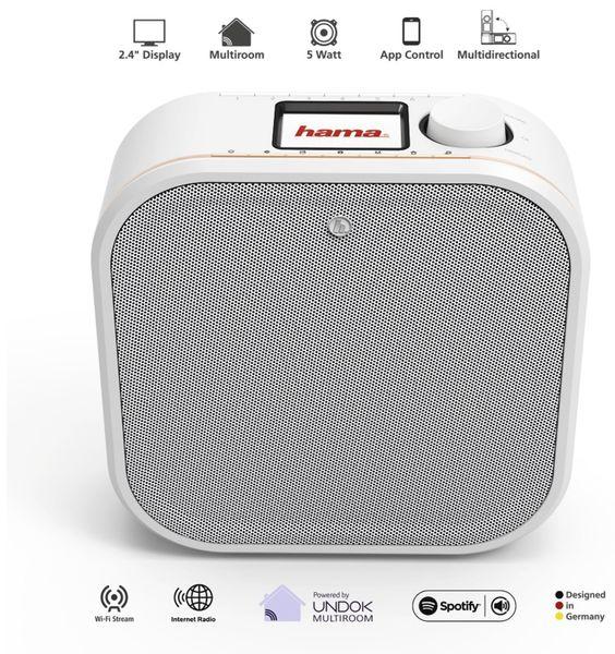 Küchenunterbauradio HAMA IR350M, weiss, WLAN - Produktbild 3