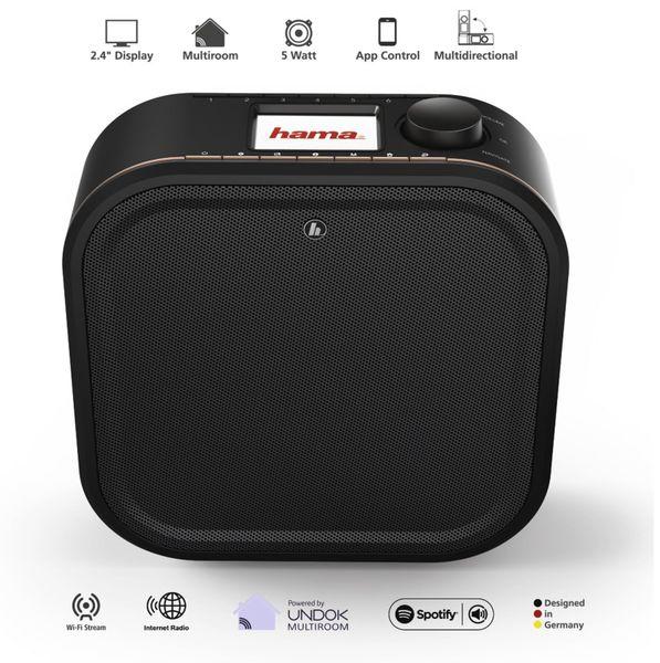 Küchenunterbauradio HAMA IR350M, schwarz, WLAN - Produktbild 7