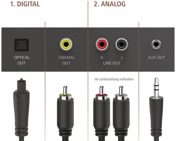 HiFi-Hybridtuner HAMA DIT2100MSBT - Produktbild 2
