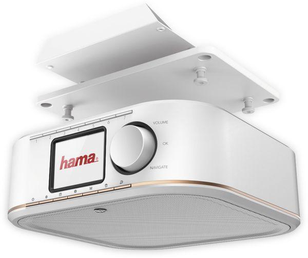 Küchenunterbauradio HAMA DR350, weiss, DAB+