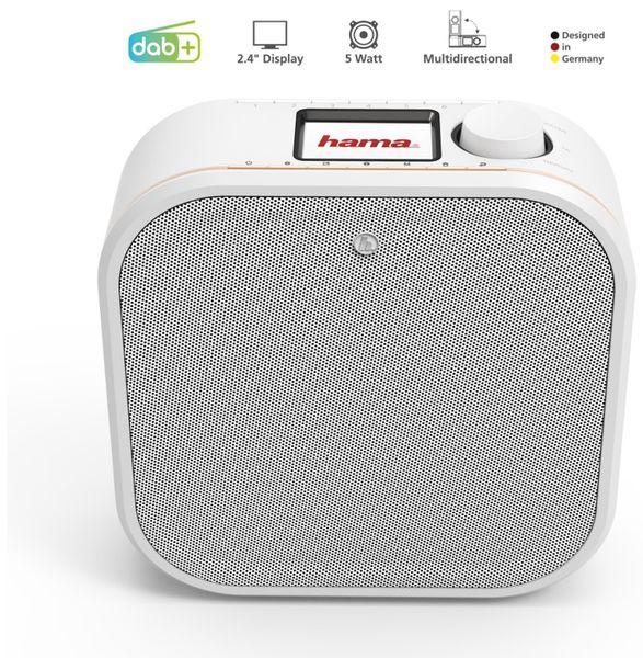 Küchenunterbauradio HAMA DR350, weiss, DAB+ - Produktbild 4