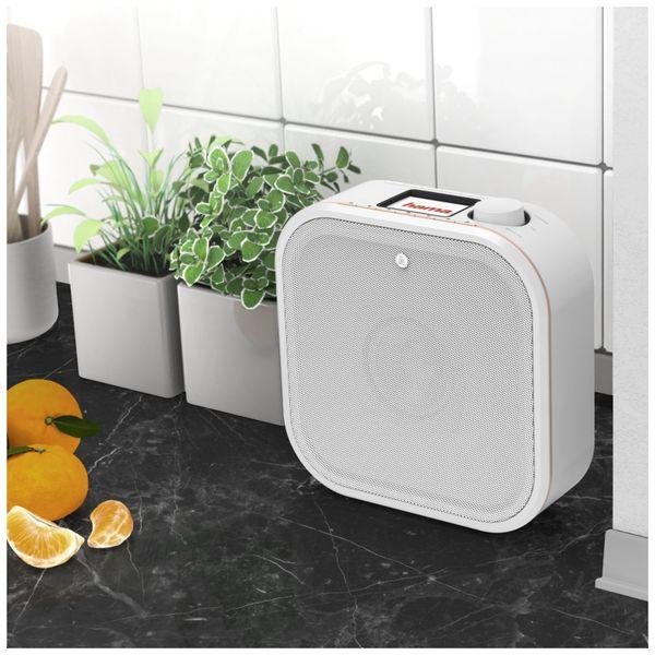 Küchenunterbauradio HAMA DR350, weiss, DAB+ - Produktbild 5
