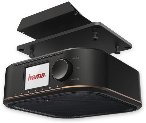Küchenunterbauradio HAMA DR350, schwarz, DAB+