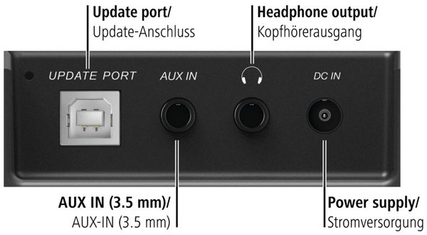 Küchenunterbauradio HAMA DR350, schwarz, DAB+ - Produktbild 9