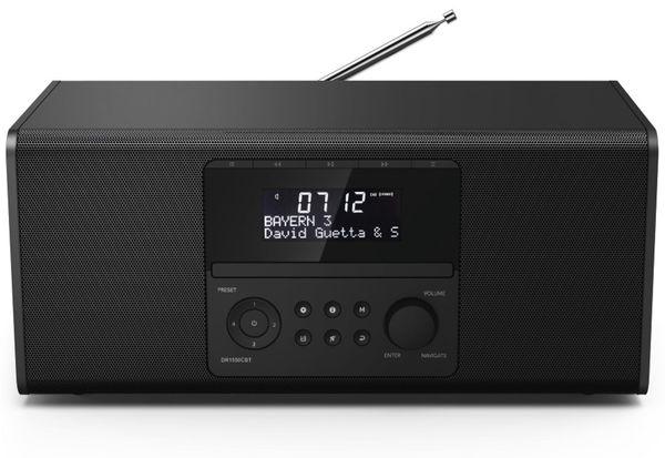 DAB+ Radio HAMA DR1550CBT, schwarz