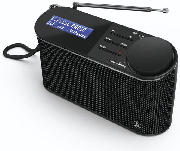 DAB+ Radio HAMA DR15, schwarz - Produktbild 2