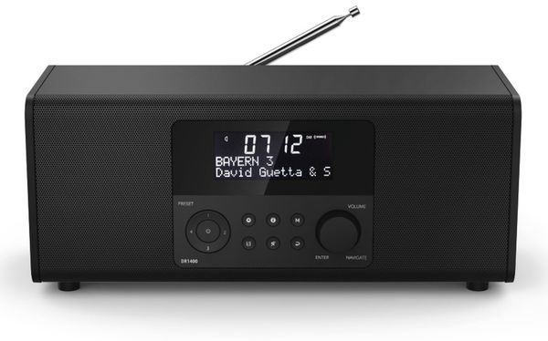DAB+ Radio HAMA DR1400, schwarz