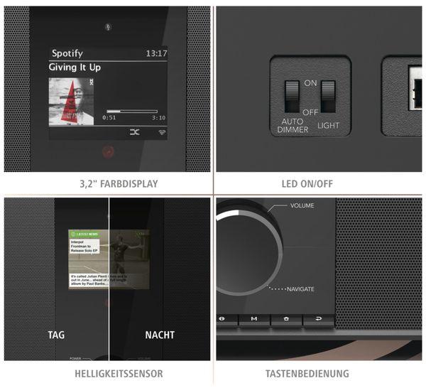 DAB+ Radio HAMA DIR3605MSBT, schwarz - Produktbild 4