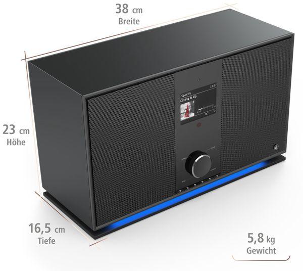 DAB+ Radio HAMA DIR3605MSBT, schwarz - Produktbild 5